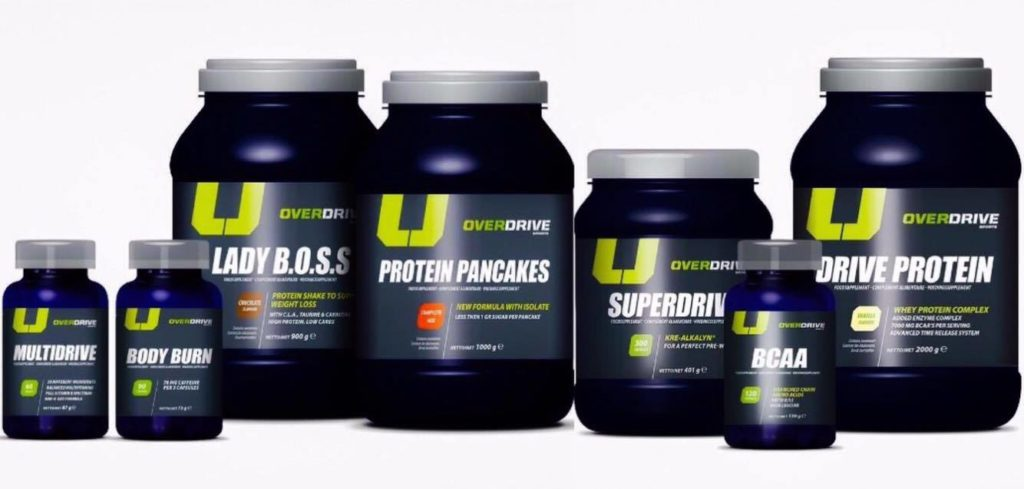 OVERDRIVE nutrition